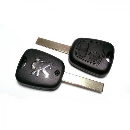 Κέλυφος κλειδιού για PEUGEOT 307 με 2 κουμπιά και λάμα HU83 klidia aytokiniton