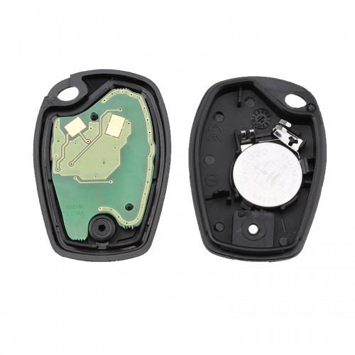 Κομπλέ κλειδί με τηλεχειριστήριο και ID46 chip για RENAULT modus clio cangoo