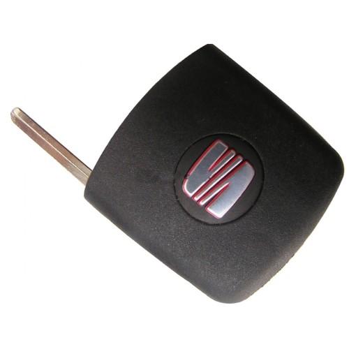 Κενό κλειδί για SEAT με υποδοχή για chip