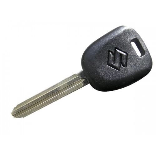 Κλειδί κενό με υποδοχή για CHIP με το  λογότυπο της SUZUKI και λάμα TOY43 klidia aytokiniton