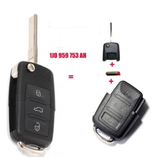 Κομπλέ κλειδί για SKODA Fabia από το 2000 έως το 2010