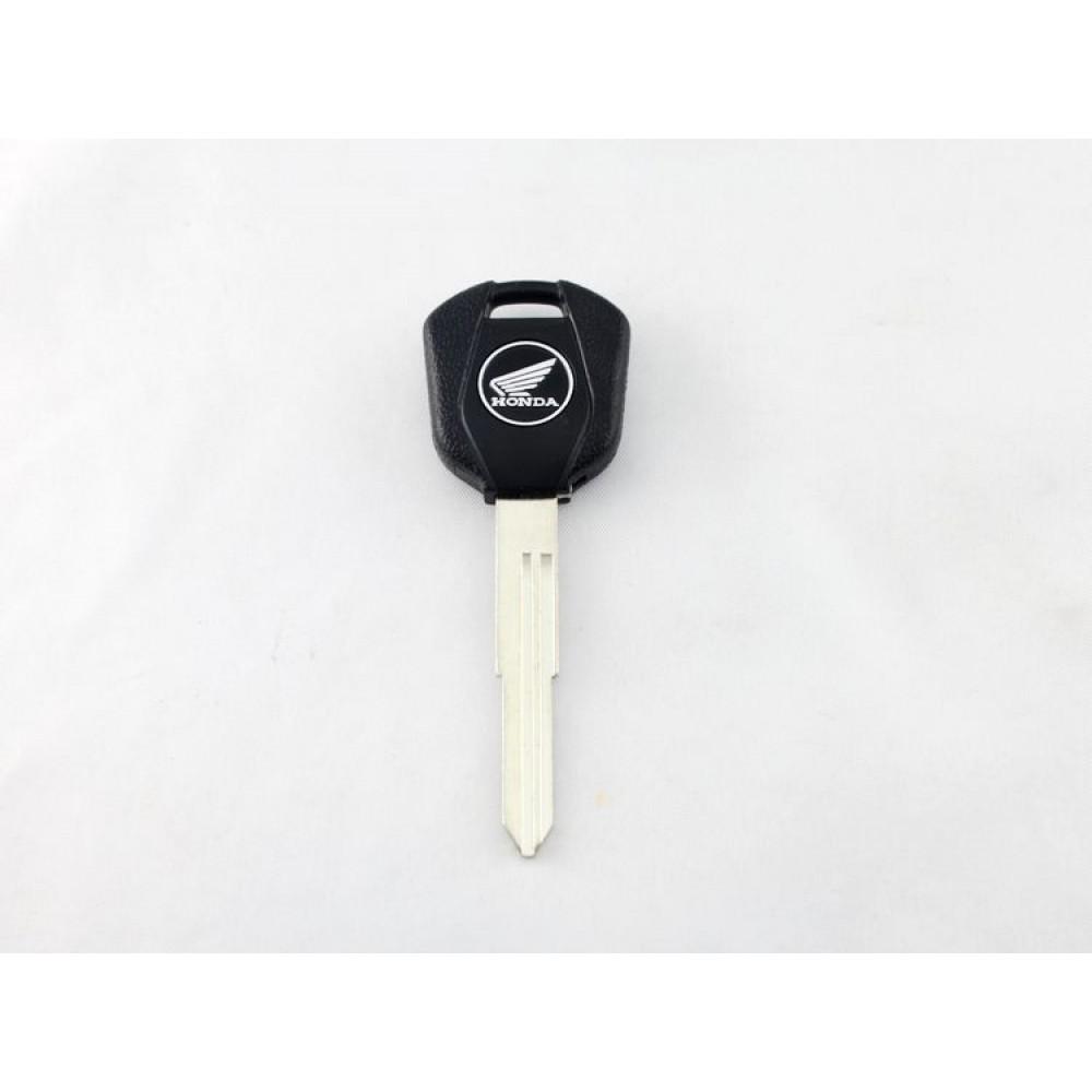 Απλό κλειδί με θέση για CHIP με το λογότυπο της HONDA-μαύρο