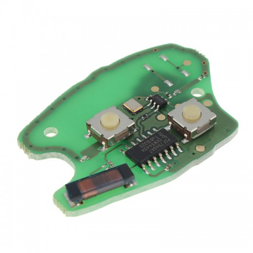 Κομπλέ κλειδί με τηλεχειριστήριο  και chip για RENAULΤ Kangoo