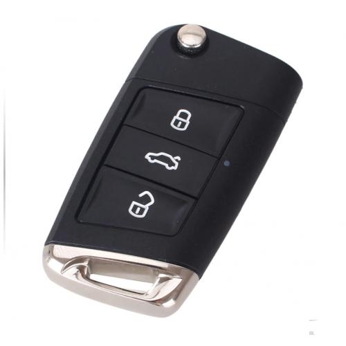 Κέλυφος κλειδιού VW για τα νέα μοντέλα και λάμα HU66