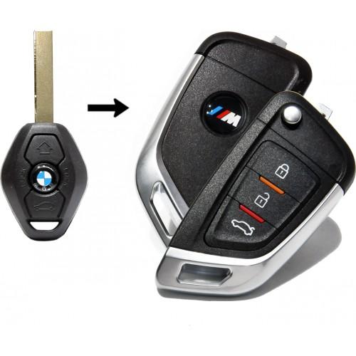 Κομπλέ κλειδί BMW νέου τύπου συμβατό με E36 E46 E53 E83