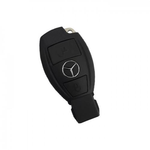 Κέλυφος κλειδιού  για Mercedes με 2 πλήκτρα  -Μαύρο
