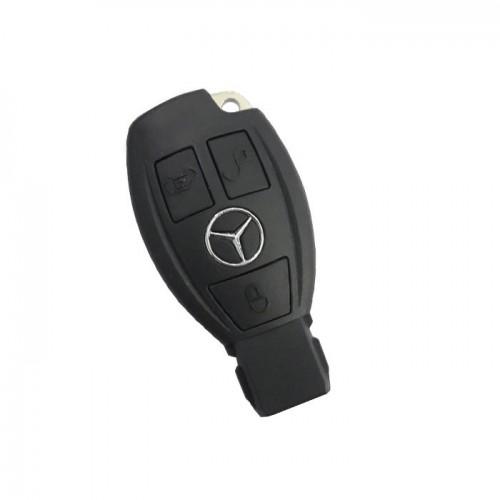 Κέλυφος κλειδιού  για Mercedes με 3 πλήκτρα  -Μαύρο