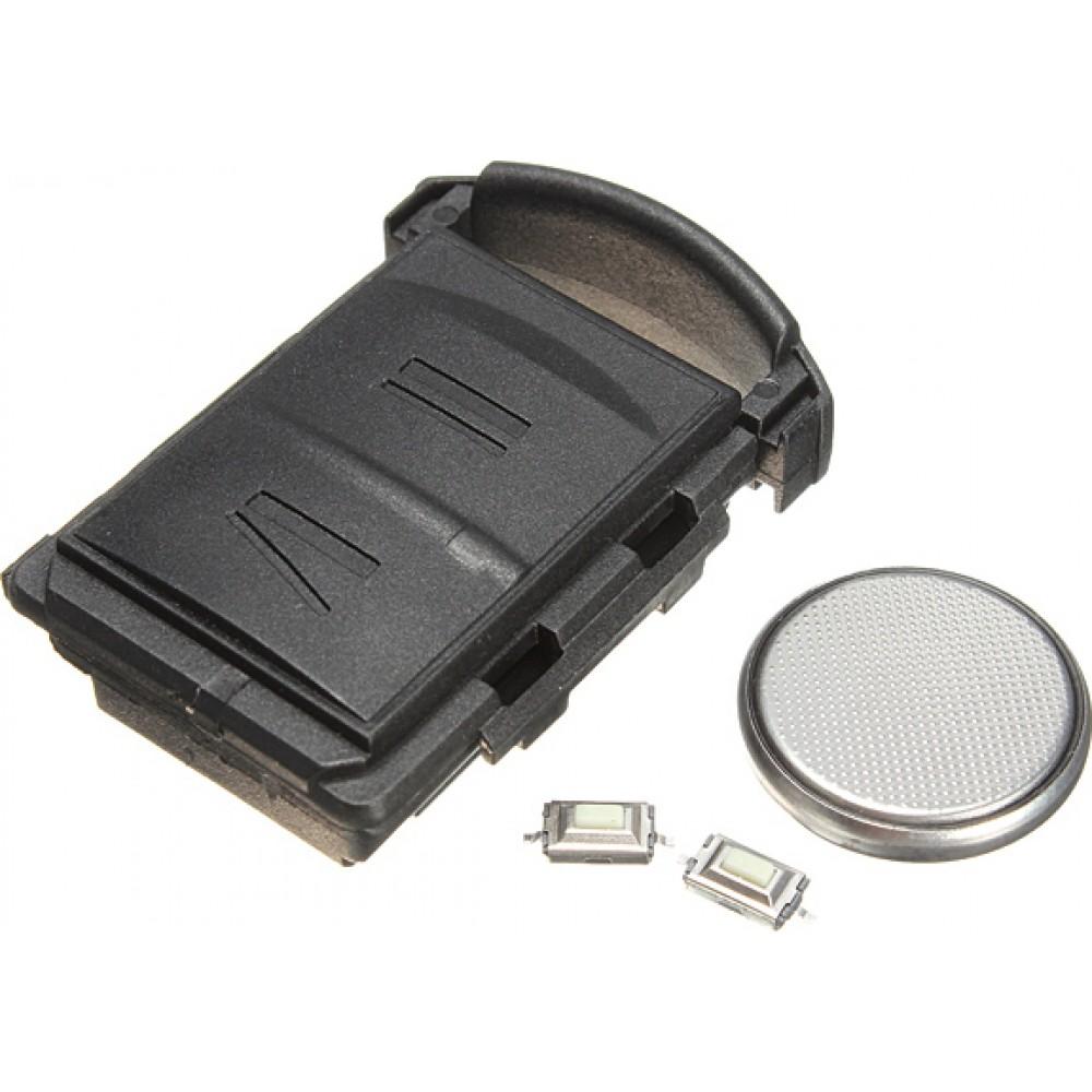 Κέλυφος κλειδιού για Opel Corsa C με επιπλέον κουπάκια και μπαταρία