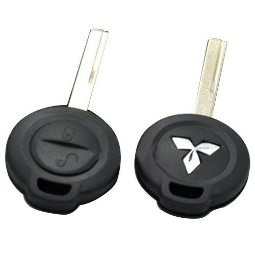 Κέλυφος κλειδιού για Mitsubishi με 2 κουμπιά και λάμα HU56R