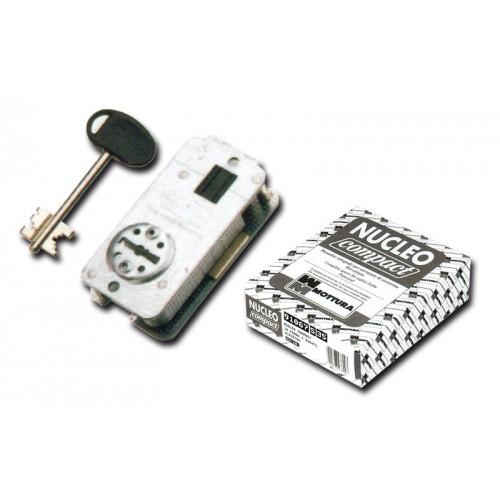 Εσωτερική κλειδαριά θωρακισμένης πόρτας για αλλαγή κλειδιών μάρκας MOTURRA-COMPACT          2 στροφών-αριστερή Κλειδαριές