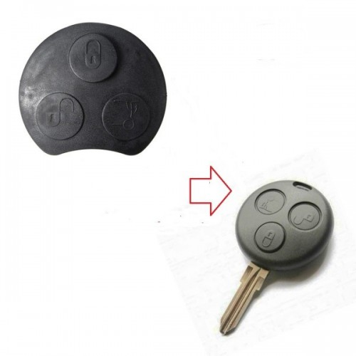 Ανταλλακτικό λαστιχάκι για  SMART με 3 κουμπιά για τον κωδικό 3055 klidia aytokiniton